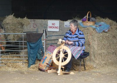 Wool Spinning